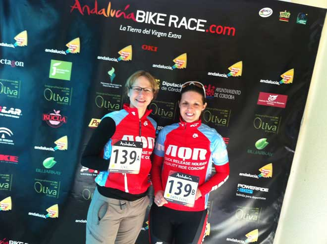 AQR Cotic at Analucia Bike Race