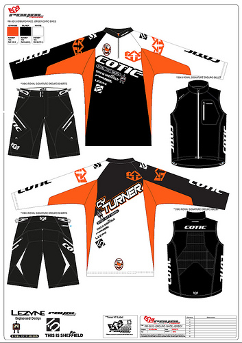 Cotic Factory Racing kit from Royal
