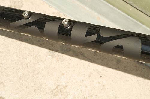 Gritstone Roadrat downtube detail