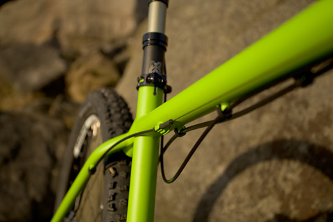 Ovalform top tube to boost precision and maximise compliance