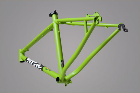the BFe now in Matte Bright Green