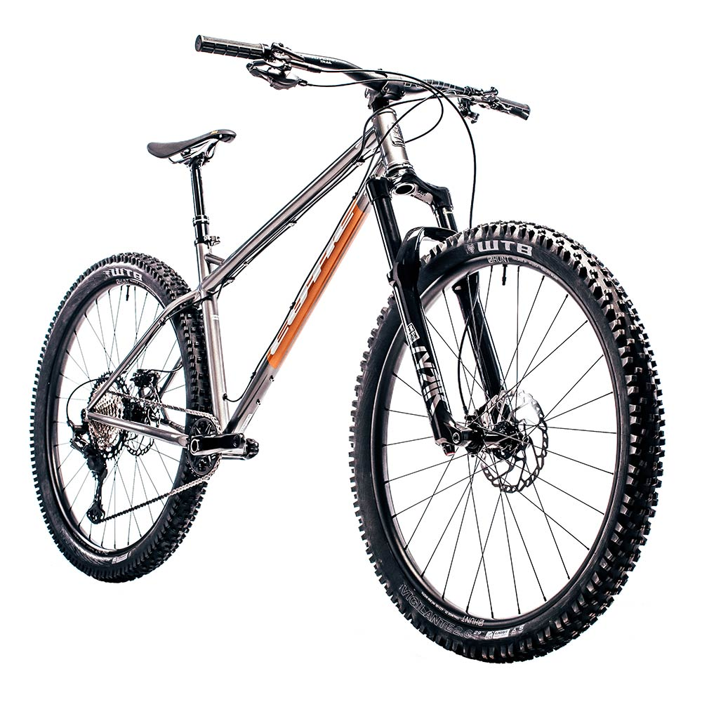 Cotic BFeMAX, gunmetal, cotic steel full suspension, 853 downtube, steel mountain bike, steel is real, enduro mountain bike, 29 mountain bike, 160mm travel, progressive geometry mountain bike, british mountain bike, sheffield steel, reynolds 853, longer lower slacker, slack geometry, long geometry