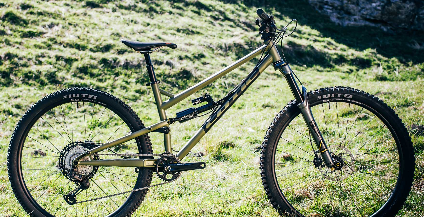 cotic rocketmax, rocketmax gen3, 160mm enduro bike, review, reynolds 853, steel full suspension, 29er enduro bike, uk made, uk made mountain bike