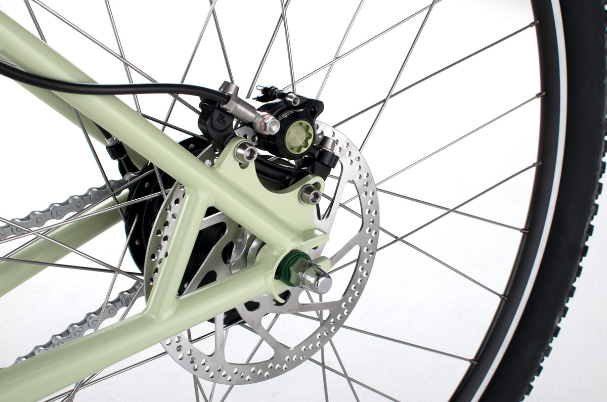 Simple, for singlespeed or hub-gears
