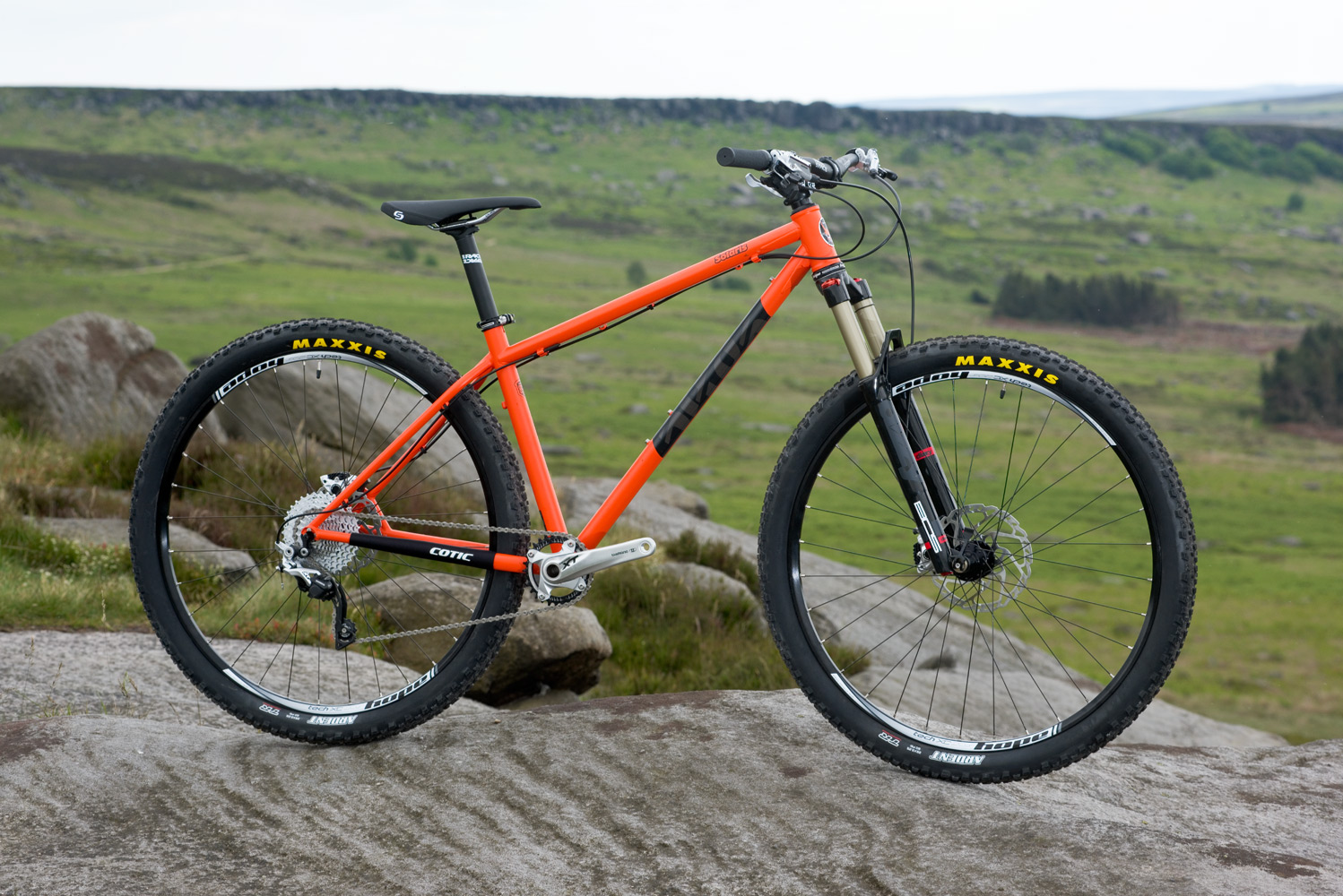 the Product of COTIC cycles : SOLARIS, our updated 29er and 27.5+ ...